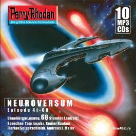 Perry Rhodan Sammelbox Neuroversum-Zyklus 41-60