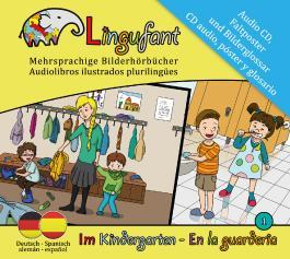 Lingufant - Im Kindergarten: Deutsch - Spanisch