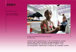 """Corporate Social Responsibility in der Textilindustrie: Welchen Einfluss haben """"Codes of Conduct"""" von Modeunternehmen auf die Arbeitsbedingungen von Fabrikarbeiterinnen in Indien?"""