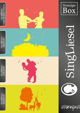 Die SingLiesel-Nostalgie-Box (4 Bücher im Schmuckschuber)