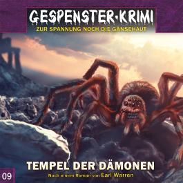 Gespenster-Krimi 9: Tempel der Dämonen