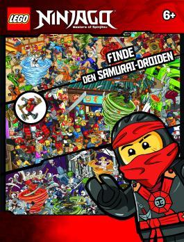 LEGO® NINJAGO™ Finde den Samurai-Droiden: mit LEGO Minifigur