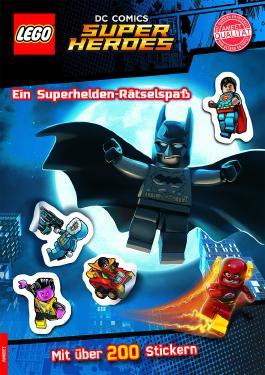 LEGO® DC Comics™ Superhelden. Ein Superhelden-Rätselspaß - Mit über 200 Stickern