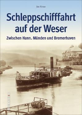 Schleppschifffahrt auf der Weser