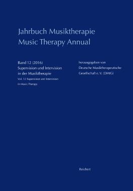 Jahrbuch Musiktherapie / Music Therapy Annual