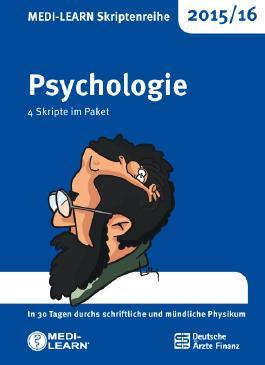 Psychologie, 4 Skripte im Paket