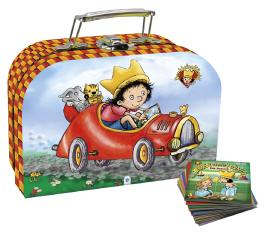 """Bücherset im Koffer """"Der kleine König"""""""