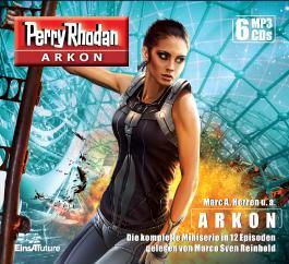 Perry Rhodan Arkon – Die komplette Miniserie (6 MP3-CDs)