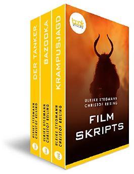 Filmscripts  - Dreimal E-Book-Kino (Kurzgeschichte, Krimi, Thriller) (Die 'booksnacks' Kurzgeschichten Reihe)