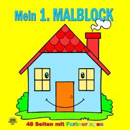 Mein 1. Malblock Haus