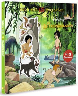 Disney Dschungelbuch: Buch mit 15 Magneten