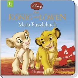 Disney König der Löwen: Mein Puzzlebuch