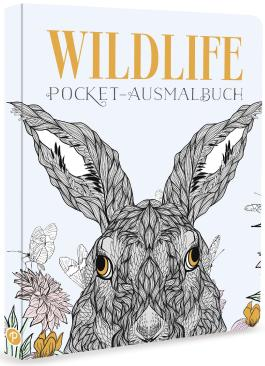 Wildlife - Pocket-Ausmalbuch
