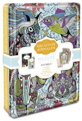 Kreatives ausmalen - Wildlife