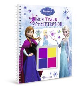 Disney Die Eiskönigin Mein Fingerstempelbuch