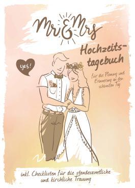 """Hochzeitstagebuch """"Mr und Mrs"""""""