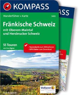 Fränkische Schweiz mit Oberem Maintal und Hersbrucker Schweiz