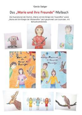 """Das """"Marie und ihre Freunde"""" Malbuch"""
