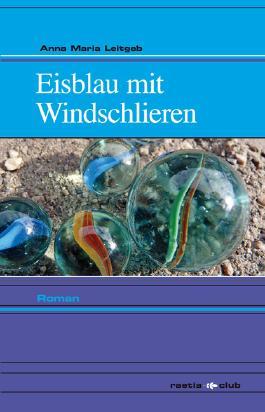 Eisblau mit Windschlieren
