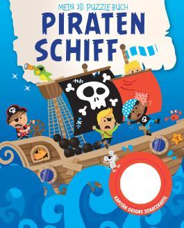 Mein 3D Puzzelbuch - Piratenschiff