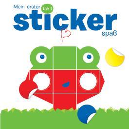 Mein erster Stickerspaß 2 bis 3