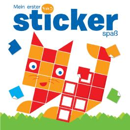 Mein erster Stickerspaß 4 bis 5