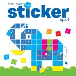 Mein erster Stickerspaß 5 bis 6