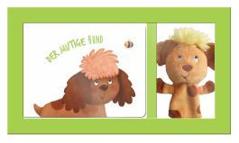Vorlesezeit mit Tierfingerpuppen - Der mutige Hund
