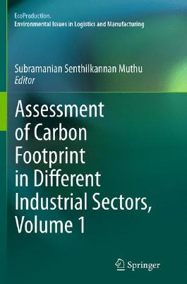 Assessment of Carbon Footprint in Different Industrial Sectors, Volume 1