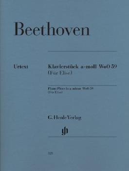 Klavierstück a-moll WoO 59 (Für Elise)