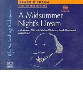 A Midsummer Night's Dream (New Cambridge Shakespeare (Naxos Audio)) Shakespeare, William ( Author ) Feb-01-1998 Compact Disc