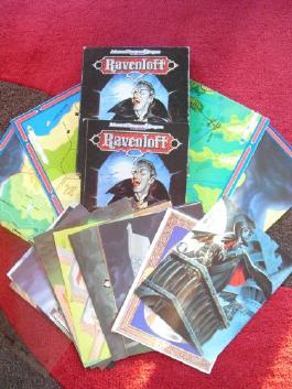 AD&D Ravenloft: Rabenhorst - Das Reich des Schreckens. Grundbox der Ravenloft Kampagne