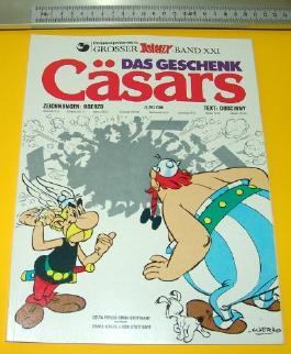 ASTERIX BAND XXI; Das Geschenk des Cäsar (1976)