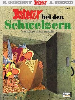 ASTERIX Softcover-Kioskausgabe, Bd 16, ASTERIX BEI DEN SCHWEIZERN (Grossbild-Cover 2008)