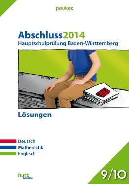 Abschluss 2014 Hauptschulprüfung Baden-Württemberg, Lösungen