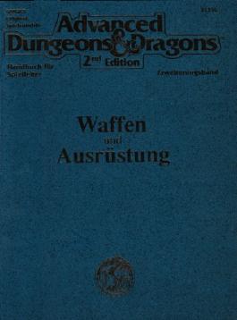 Advanced Dungeons & Dragons 2nd Edition, Handbuch für Spielleiter Erweiterungsband, Waffen und Ausrüstung