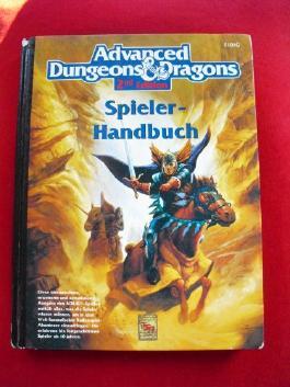 Advanced Dungeons & Dragons Spieler-Handbuch 2nd Edition