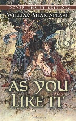 As You Like It (Dover Thrift Editions) by William Shakespeare published by Dover Publications (1998)