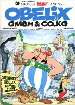 Asterix-Band 23, Obelix-GmbH-&-Co.-KG