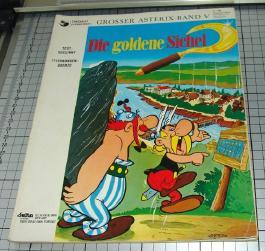 Asterix Bd. V; Die goldene Sichel (1969)