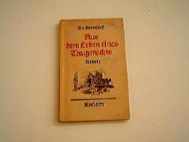 Aus dem Leben eines Taugenichts. Novelle Reclams Universal-Bibliothek 2354