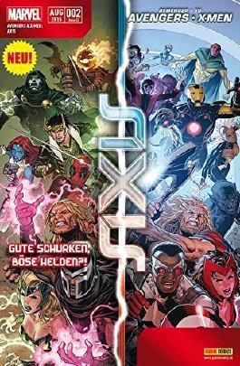 Avengers & X- Men: Axis #2 - **Marvel Mega- Event 2015** (2015, Panini)