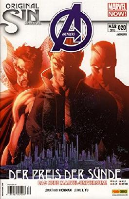 Avengers #20 - Original Sin (2015, Panini) ***MARVEL NOW***