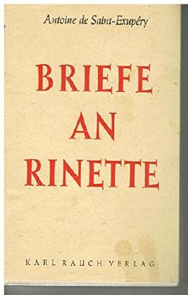 Briefe an Rinette