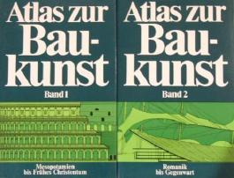 Atlas zur Bau-kunst Band 1 und 2 zusammen