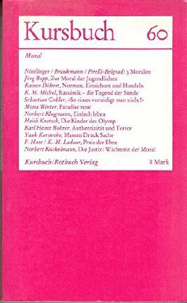 Kursbuch 60 Moral