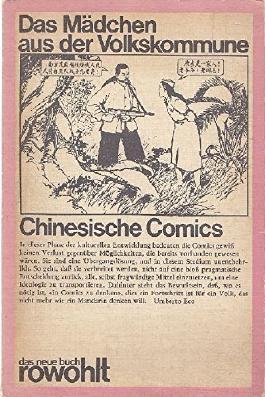 Das Mädchen aus der Volkskommune. Chinesische Comics.