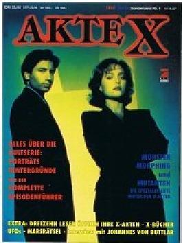 Television Sonderband Nr. 1: Akte X. Alles über die Kultserie.