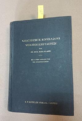 Geschichte Konradins von Hohenstaufen