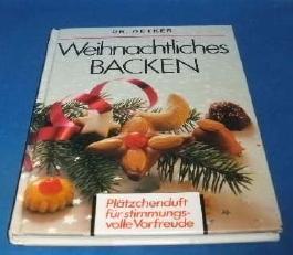 Weihnachtliches Backen